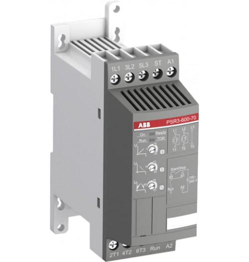 Sklandaus paleidimo įrenginys PSR3-600-70 ABB 3.9A 1.5kW