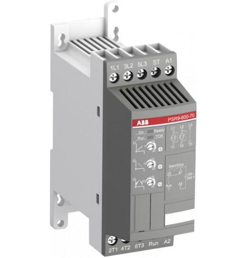 Sklandaus paleidimo įrenginys PSR9-600-70 ABB 9A 4kW