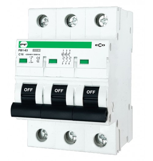 Automatinis išjungiklis ECO 3C1A