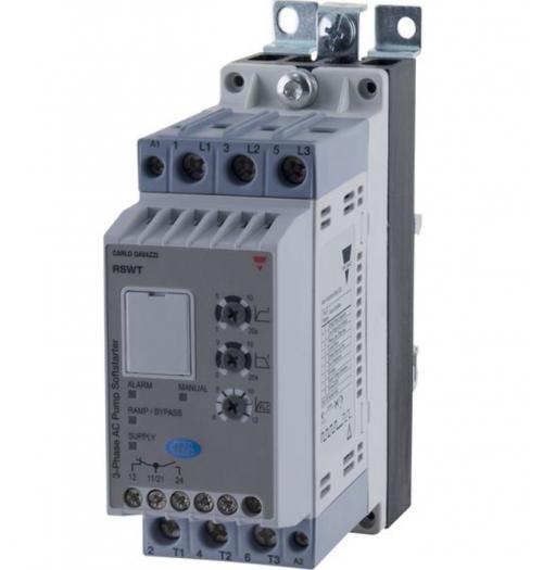 Sklandaus paleidimo įrenginys RSWT4012E0V10 CARLO GAVAZZI 12A 5.5 kW
