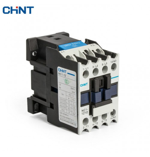 Kontaktorius NC1-1210 5.5kW (230V AC ritė) 1NO