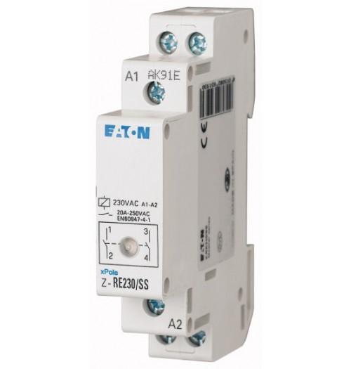 Modulinis kontaktorius Z-RE230/SS 20A 2NO (230V AC ritė)