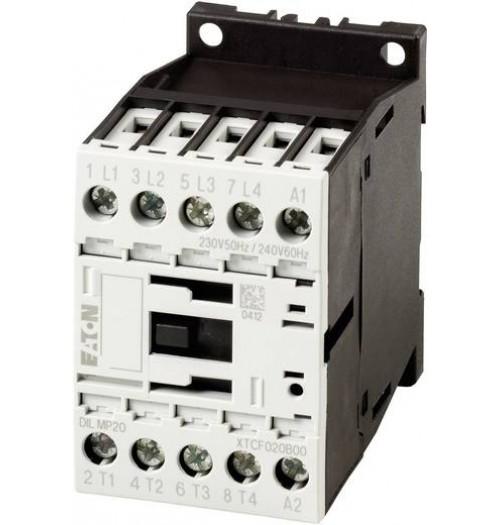 Kontaktorius DILM-9-10 4kW (24V DC ritė) 1NO