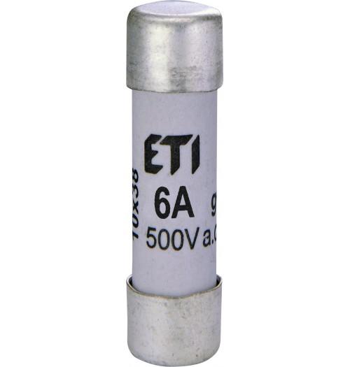 Keraminis saugiklis CH10 10x38mm 10A ETI