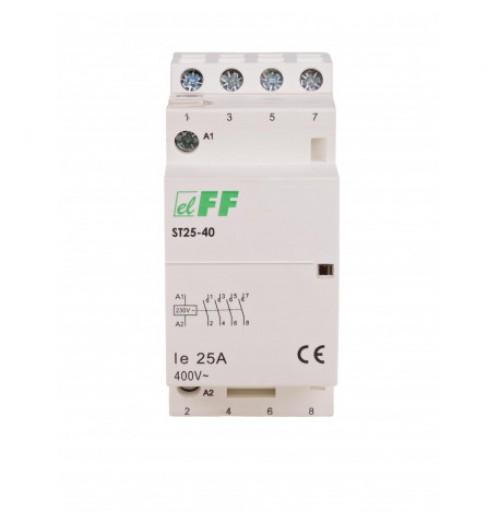 Modulinis kontaktorius ST25-40 25A 4NO (230V AC ritė)