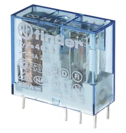 Elektromagnetinė relė FINDER 12V DC 2 porų kont. 40.52