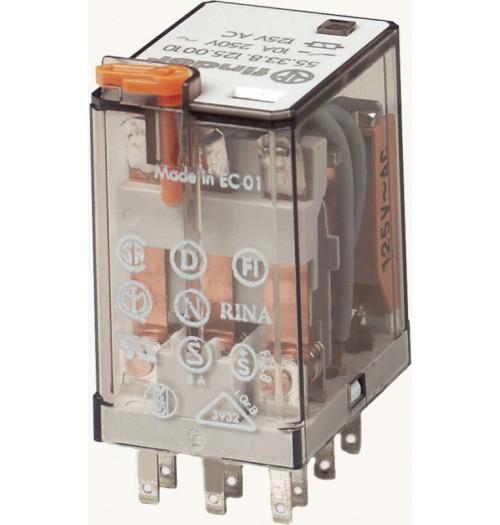 Elektromagnetinė relė FINDER 230V AC 10A 55.33.8.230.0010