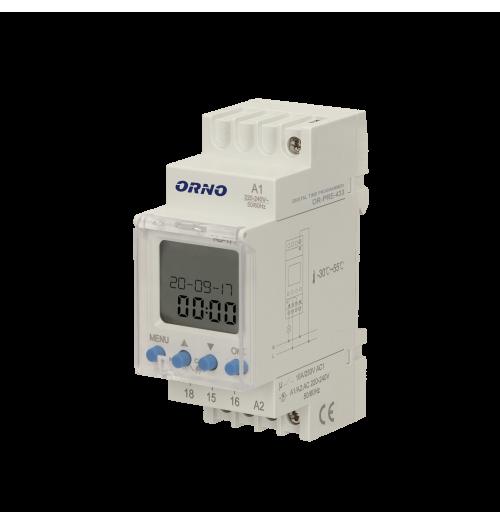 Multifunkcinė elektroninė laiko relė ORNO OR-PRE-433