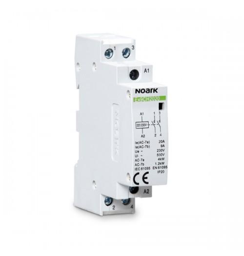 Modulinis kontaktorius Ex9CH2011 20A 1NO+1NC (230V AC ritė)