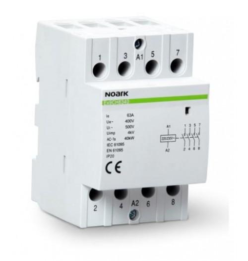 Modulinis kontaktorius Ex9CH4040 40A 4NO (230V AC ritė)