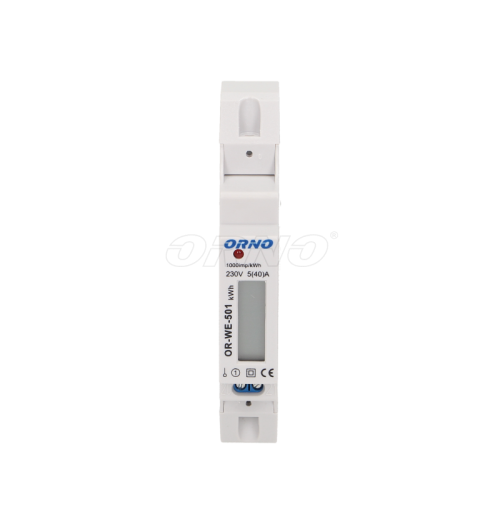 Modulinis elektros energijos skaitiklis ORNO OR-WE-501 1F 5(40)A