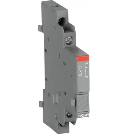Papildomų kontaktų blokas (šoninio mont.) MS116 jungikliams HK1-11 (1NO+1NC)