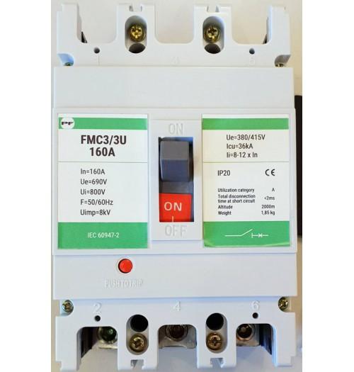 Pramoninis automatinis išjungiklis PROMFACTOR FMC 3/3U 3F 160A