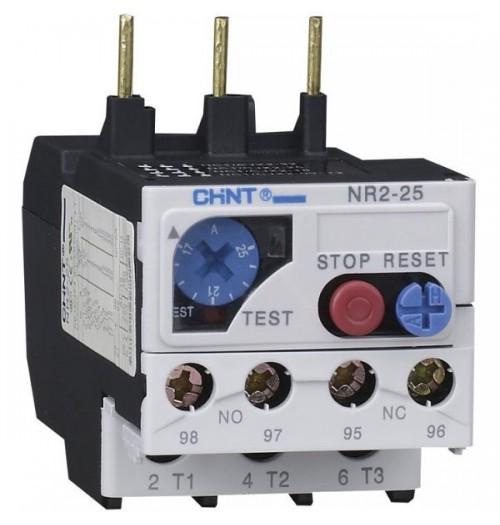 Šiluminė relė NR2-25 1.0-1.6A (NC1 kontaktoriams)