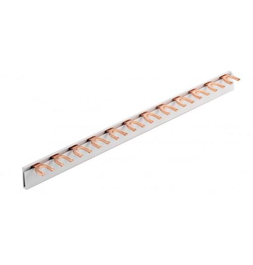 Šakutės tipo srovėlaidis 1P 10mm² 12 mod. Promfactor Baltic