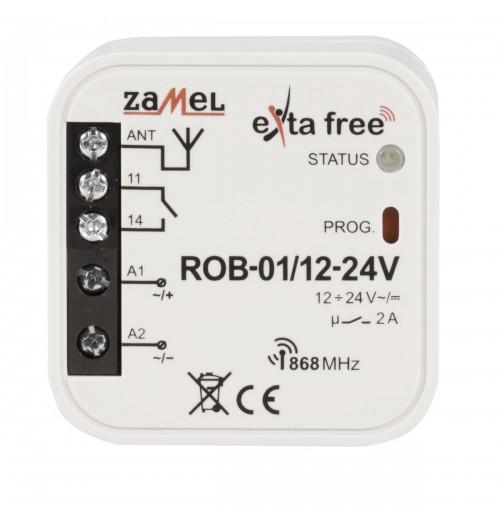 ZAMEL EXTA FREE signalo imtuvas impulsinis 12/24V AC/DC ROB-01