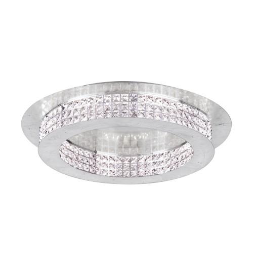 Šviestuvas EGLO PRINCIPE LED 44.1W 3000K 5320lm D700 (sidabro sp. pagrindas)