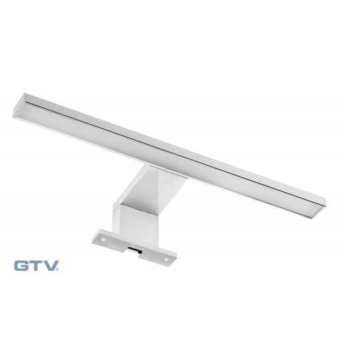 LED veidrodžio šviestuvas GTV RADIUS 4.5W 3000K 300lm IP44