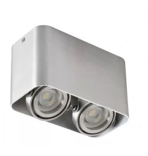 Akcentinis šviestuvas Kanlux Toleo DTL-250-AL 2xGU10