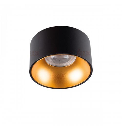 Įleidžiamas akcentinis šviestuvas Kanlux Mini Riti B/G 1xGU10