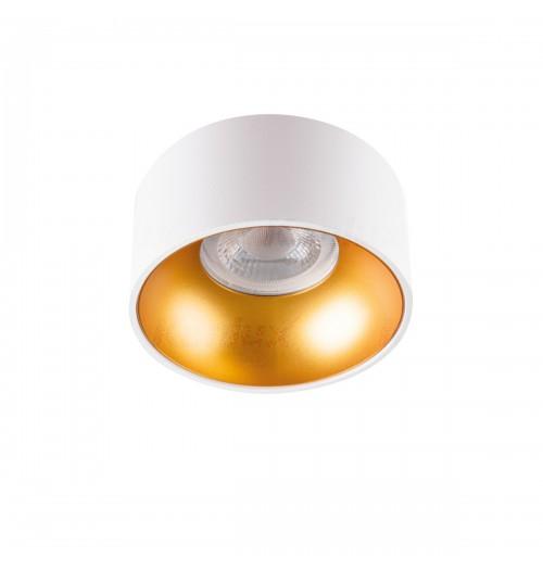 Įleidžiamas akcentinis šviestuvas Kanlux Mini Riti W/G 1xGU10