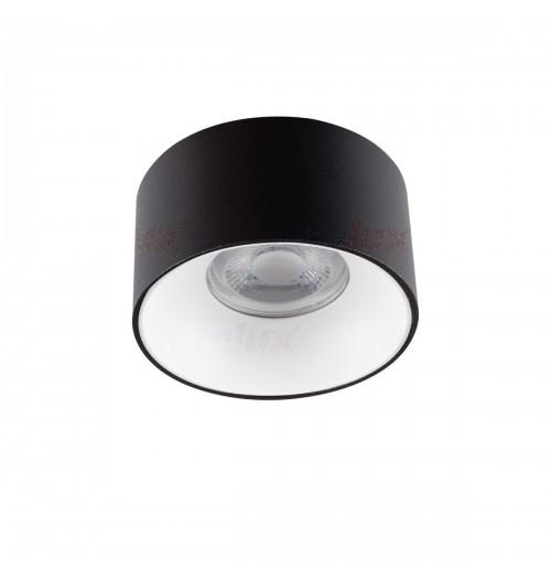 Įleidžiamas akcentinis šviestuvas Kanlux Mini Riti B/W 1xGU10
