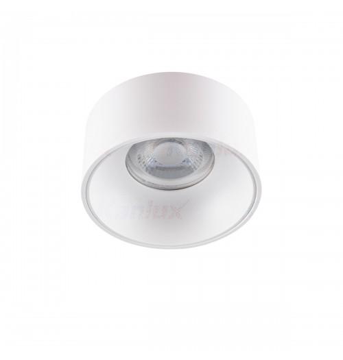 Įleidžiamas akcentinis šviestuvas Kanlux Mini Riti W/W 1xGU10