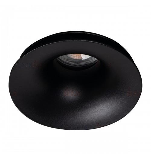 Įleidžiamas šviestuvas 1xGU10 Kanlux AJAS juodos sp.