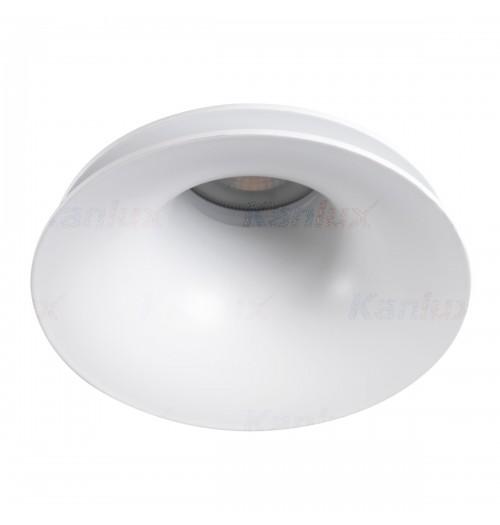 Įleidžiamas šviestuvas 1xGU10 Kanlux AJAS baltos sp.