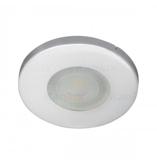 Įleidžiamas šviestuvas 1xGU10 Kanlux MARIN, chromuotas, IP44