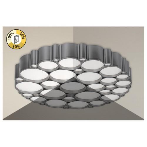 Lubinis šviestuvas Rabalux ANDELA 6039 D500 LED 48W sidabrinis