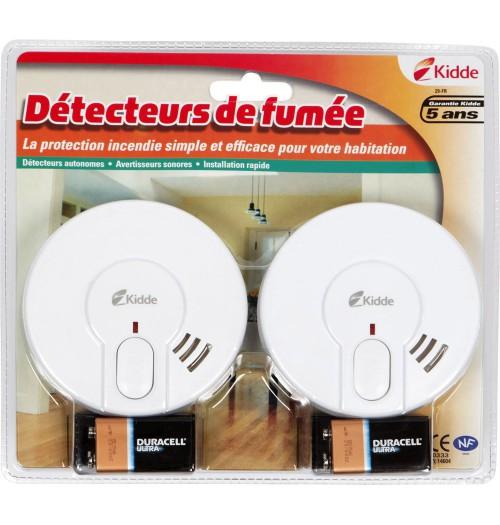 Dūmų detektorius KIDDE 29-FR (2 vnt. rinkinys)