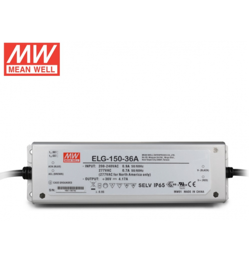 Maitinimo šaltinis ELG-150-12 12V 10A IP67 MEANWELL