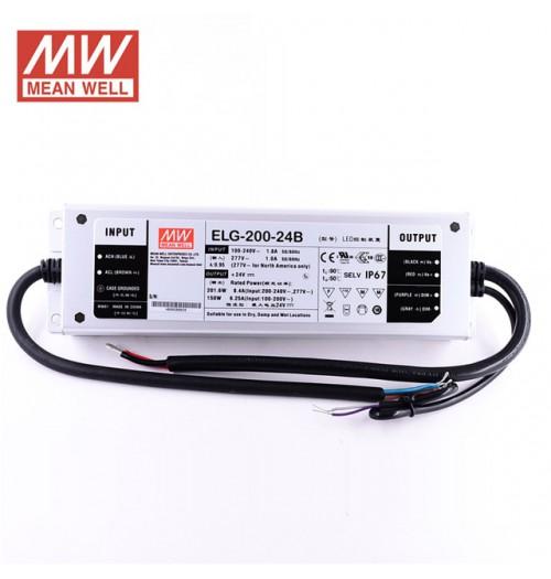 Maitinimo šaltinis ELG-200-12 12V 16A IP67 MEANWELL