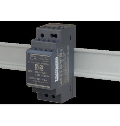 Maitinimo šaltinis HDR-30-12 12V 2A MEANWELL