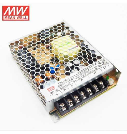 Maitinimo šaltinis LRS-100-12 12V 8.5A IP20 MEANWELL