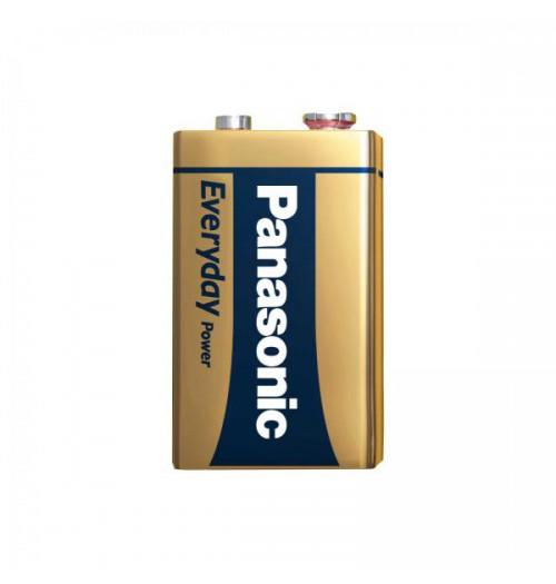 Šarminė baterija Panasonic EVERYDAY 9V (6LR61) 1.5V