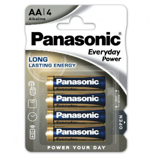 Šarminė baterija Panasonic EVERYDAY AA 1.5V