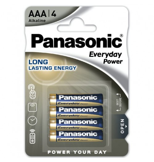 Šarminė baterija Panasonic EVERYDAY AAA 1.5V