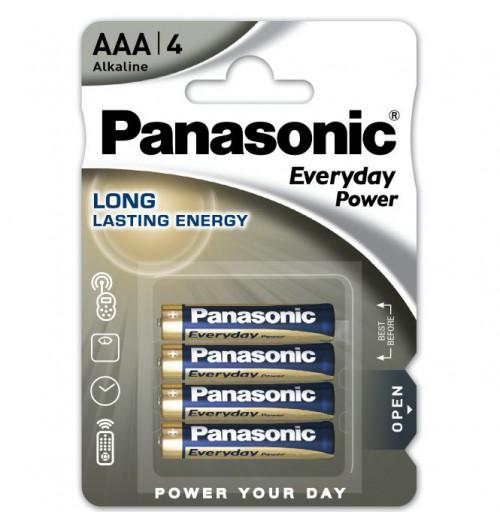 Šarminė baterija Panasonic EVERYDAY AAA 1.5V