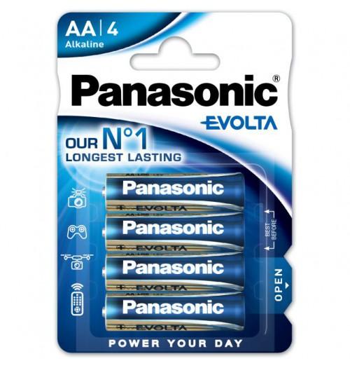 Šarminė baterija Panasonic EVOLTA AA 1.5V