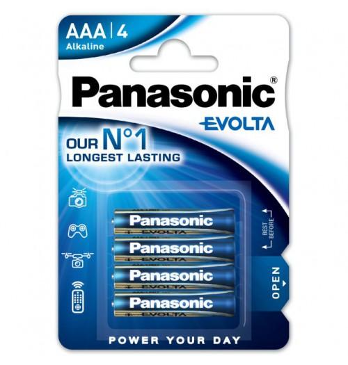 Šarminė baterija Panasonic EVOLTA AAA 1.5V