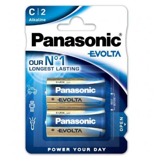 Šarminė baterija Panasonic EVOLTA C 1.5V