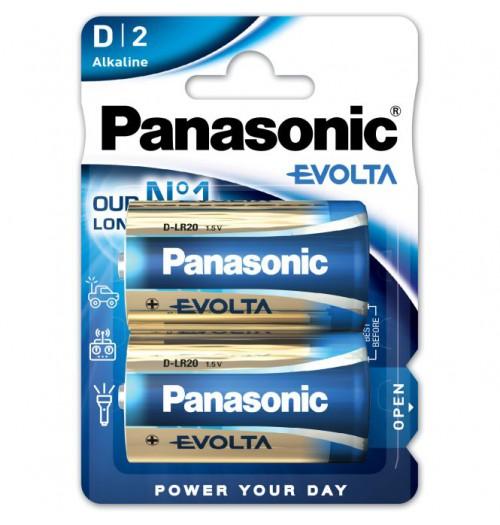 Šarminė baterija Panasonic EVOLTA D 1.5V