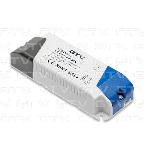 Maitinimo šaltinis 12V 1.25A (15W) IP20 GTV