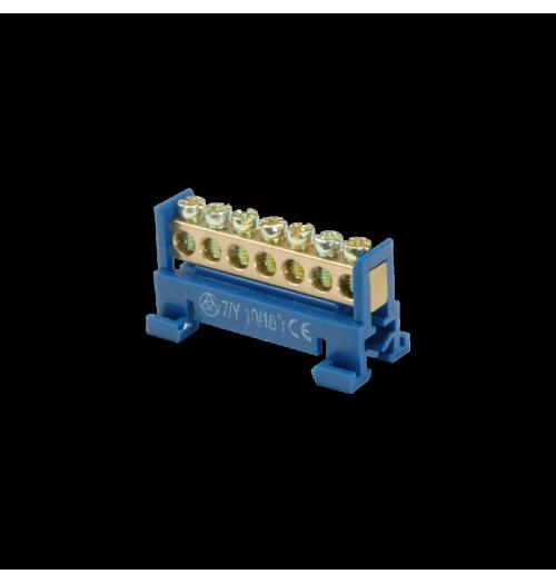 Jungimo kaladėlė SEZ 7/N 7×16 mm² mėlyna