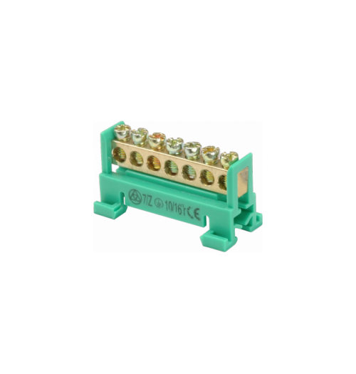 Jungimo kaladėlė SEZ 7/Z 7×16 mm² žalia