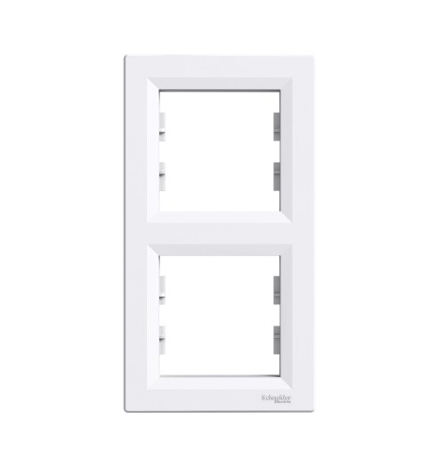 Rėmelis 2 v. vertikalus Schneider Asfora baltas EPH5810221