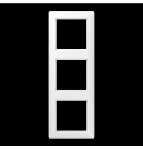 3 v. rėmelis Jung AS500 baltos sp. AS583WW