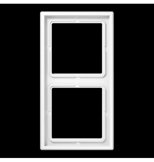 2 v. rėmelis Jung LS990 baltos sp. LS982WW